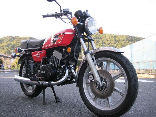 RD400 1976年モデル 車検令和4年7月まで付いています。 ご購入時に下取り車等があれば是非ご…