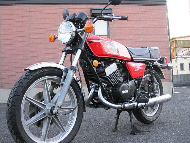 RD400 1976年モデル 車検令和4年7月まで付いています。 初めてバイクをご購入の方もお気軽に…