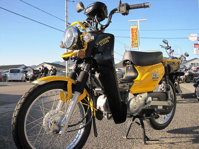 クロスカブ110 2018Model 1318Km 保険2023年4月まで付 初めてバイクをご購入の…