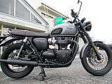 BONNEVILLE T120 BLACK/トライアンフ 1200cc 徳島県 Bike & Cycle Fujioka