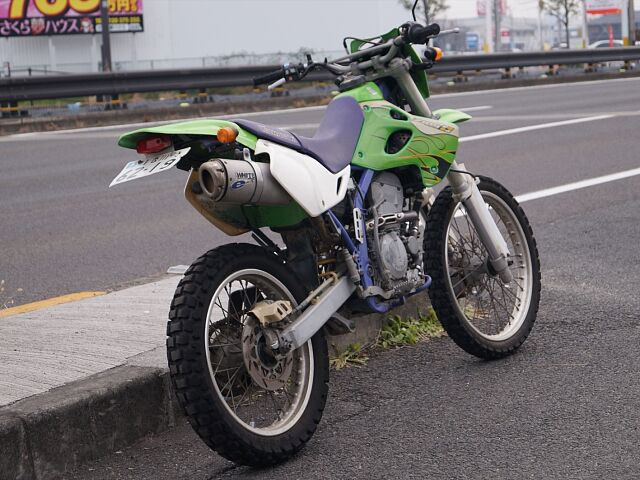 KLX250SR 戦う4スト
