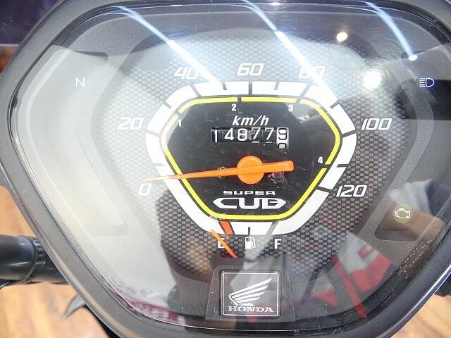 クロスカブ110 クロスカブ (CC110) スクリ-ン・ナックルバイザ-装備★… 6枚目:クロスカ…