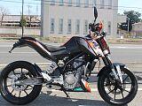 125DUKE/KTM 125cc 群馬県 SBS伊勢崎西馬似駆屋