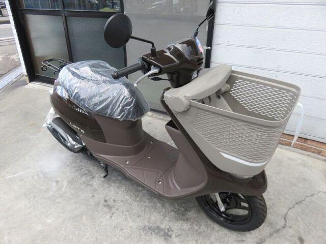 レッツバスケット メーカー2年保証の新車です お買い物に便利なスクーター