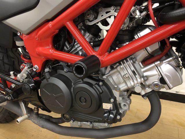 VTR250 VTR250 インジェクション スライダー装備 万が一の盗難保険も取り扱い中!