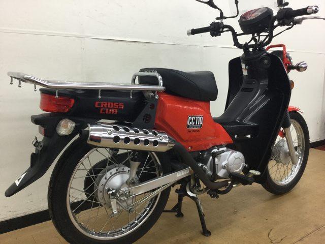 クロスカブ110 クロスカブ110 ワンオーナー 武川マフラー 常時100台以上の在庫台数!