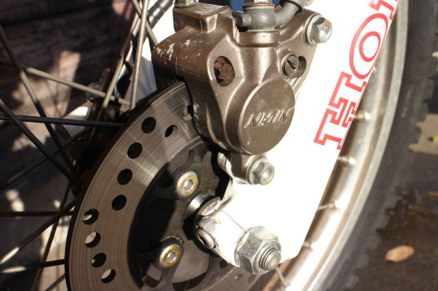 TLR220R 走行658km
