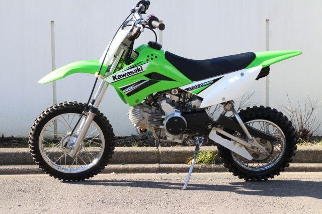 KLX110L セル付