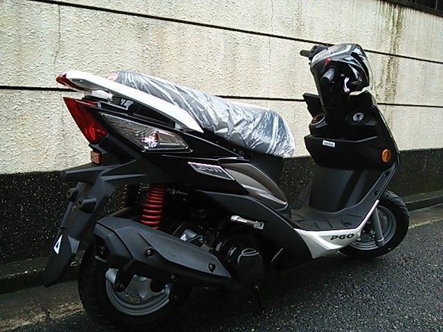 BON125 お手頃なスクーター!BON125!