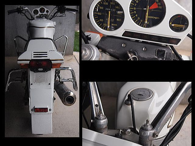 VFR400K/Z なかなか珍しい、白いカラーで一見白バイを連想!カスタムカラー
