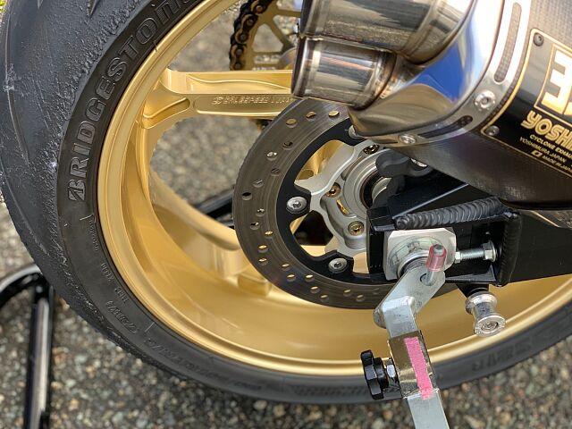 GSX1300R ハヤブサ(隼) 【FRタイヤ新品交換サービス!カスタム総額120万円相当!】