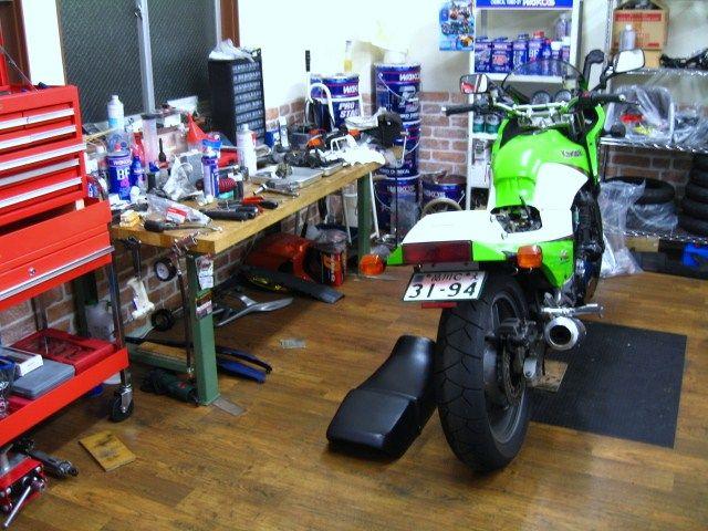 地域密着のバイク屋
