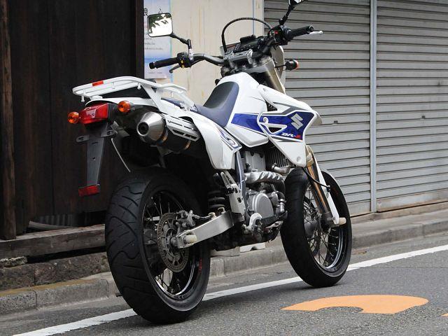 DR-Z400SM ローダウンキットETC車載器取付!USB電源!シガーソケット付!