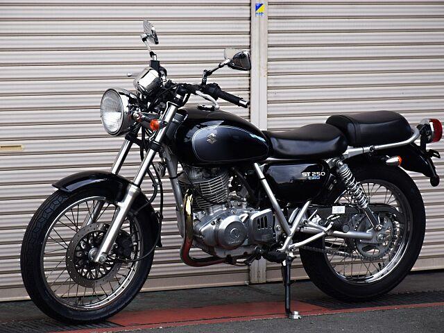 ST250 Eタイプ 低価格で楽しむ間違いないバイク。 全長2070mmです。