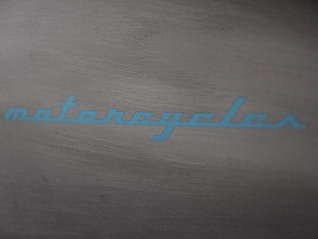 250TR フレーム塗装の手間暇かけた一台!
