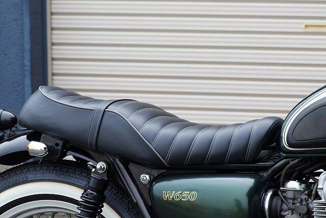 W650 新品パーツを盛り込み、当店のセンスを詰め込んだスタンダードプラン