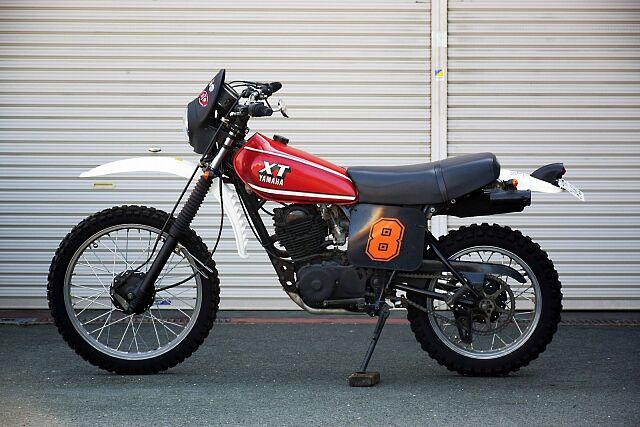 XT250 現状販売、保証対象外となります! この年代では珍しいモノサス。当時のモノサスを味わえる一…