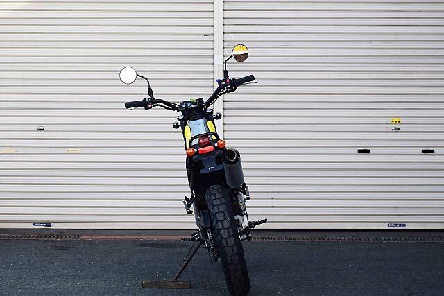 トリッカー ライトカスタム!遊べるバイク! 薄手のシートでより軽快、かつトリックのしやすい仕上がりに…