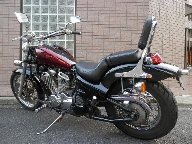 スティード400 400ccの定番アメリカン