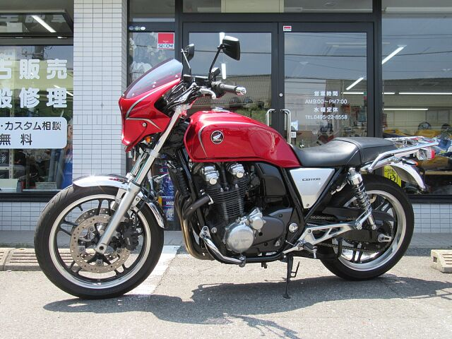 CB1100 ABS&ETC&リアキャリア付です!! 陸運局認証工場完備!!メンテナンスもお任せ下さ…