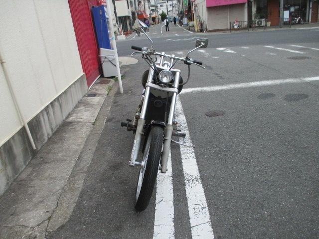 バルカン400 ロングFフォーク マフラー他カスタム