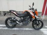 200DUKE/KTM 200cc 大阪府 有限会社スーパーバイク