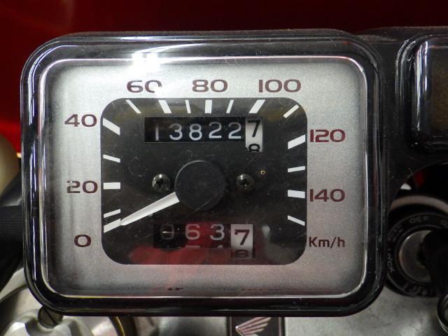 XR250モタード XR250 モタード モリワキ製マフラーカスタム リアキャリア装備 メーター表示…