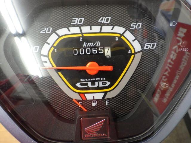 スーパーカブ50 スーパーカブ50 セル付き フルノーマル メーター表示距離:64km!