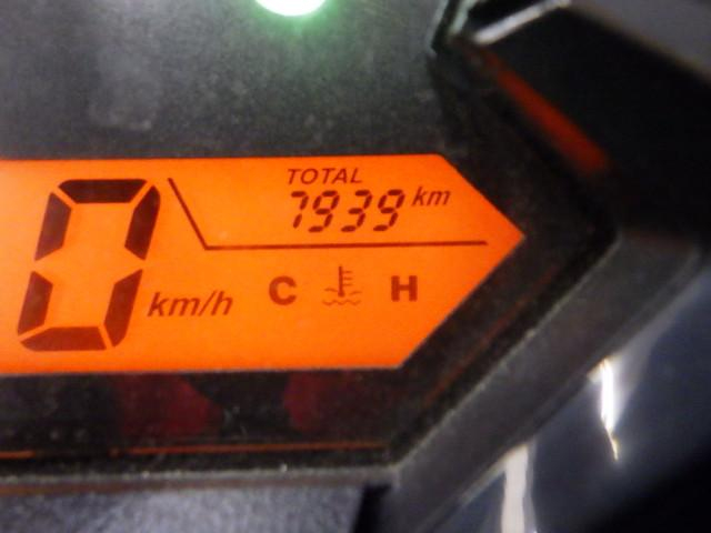 CBR150R CBR150R フルノーマル キーシャッター付 メーター表示距離:7939km!