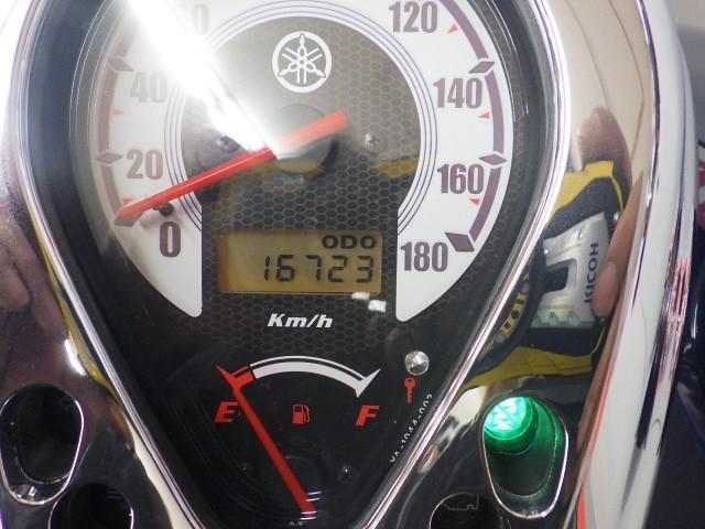 ドラッグスター400 ドラッグスター400-2 エンジンガード バックレスト装備 メーター表示距離:…