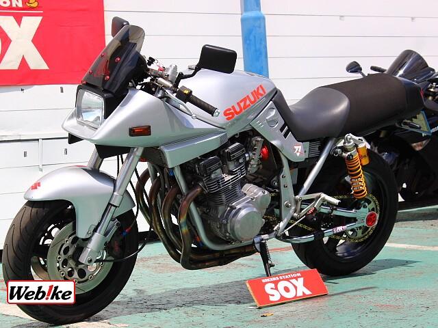 GSX750S カタナ 4枚目