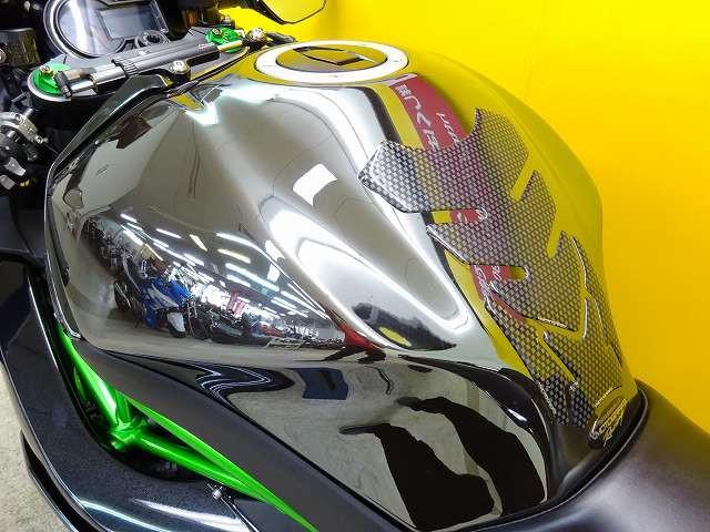 Ninja H2 Ninja H2 ワンオーナー車 フェンダーレス スーパーチャージャー バイク王と…