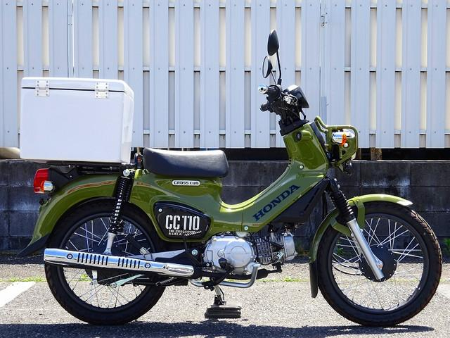クロスカブ110 クロスカブ110 新型 1オーナー トップケース TEL:0489205260