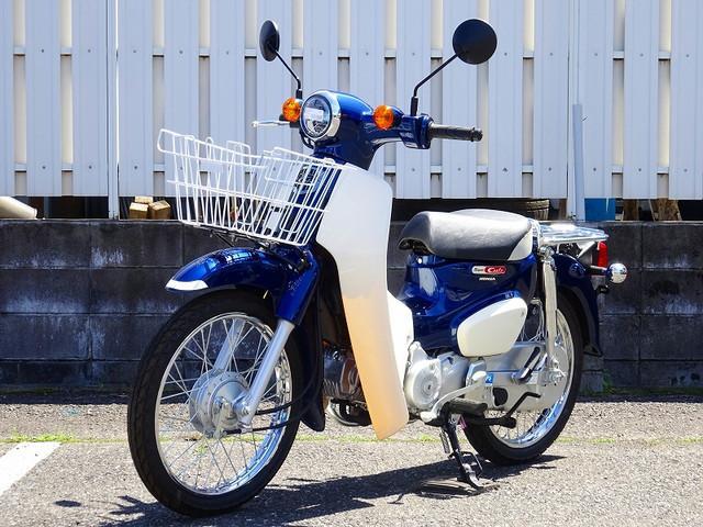 スーパーカブ110 スーパーカブ110 現行日本製モデル 1オーナー フロントバスケット 草加店限定…