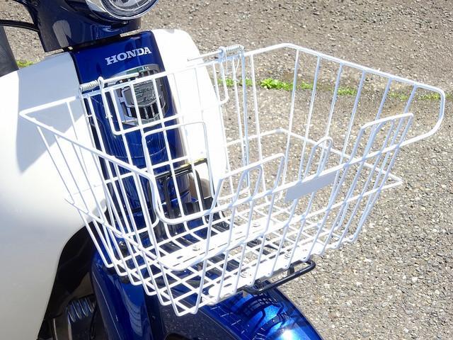 スーパーカブ110 スーパーカブ110 現行日本製モデル 1オーナー フロントバスケット お気軽にお…