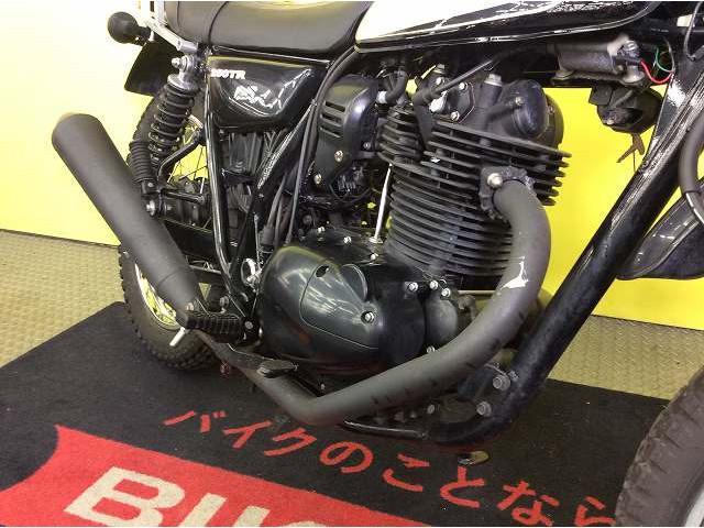 250TR 250TR リアキャリア 2008年式 インジェクションモデル エンジンも良好!