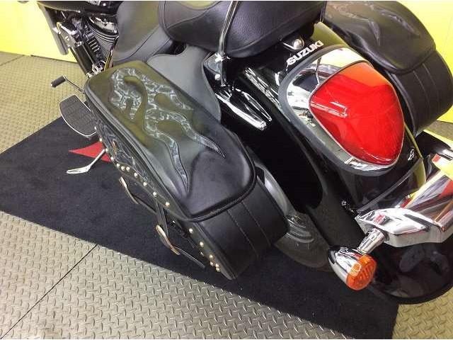 イントルーダー400 イントルーダークラシック ワンオーナー バックレスト サイドバッグ サイドバッ…