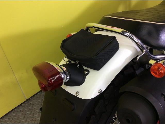 RV200 バンバン バンバン200 ワンオーナー リアポーチ インジェクション リアポーチ付き!