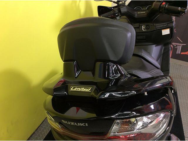 スカイウェイブ400 スカイウェイブ400 タイプS ABS 防犯アラーム バックレスト装備!