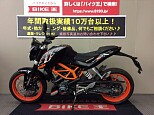 390DUKE/KTM 390cc 兵庫県 バイク王 伊丹店