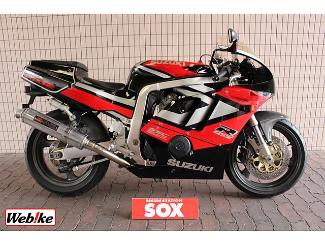 GSX-R400 規制前59馬力モデル ヨシムラ製マフラー装備 1枚目規制前59馬力モデル ヨシムラ…
