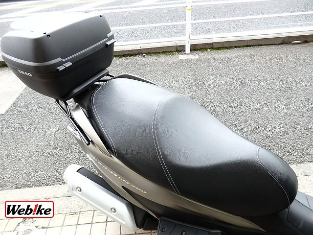 バーグマン200 5枚目