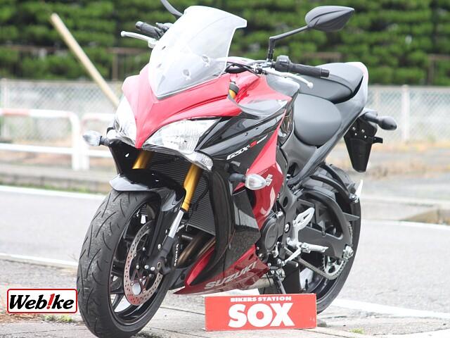 GSX-S1000F 4枚目