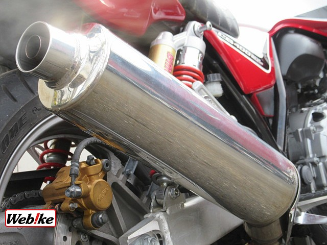 CB400スーパーボルドール 3枚目