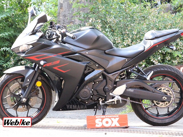 YZF-R3 -ABS フェンダーレス WR'sマフラー付き 3枚目-ABS フェンダーレス WR'…