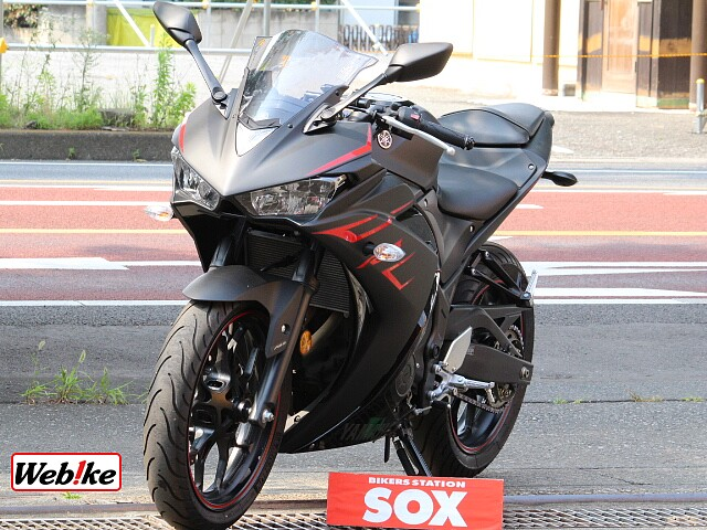 YZF-R3 -ABS フェンダーレス WR'sマフラー付き 4枚目-ABS フェンダーレス WR'…