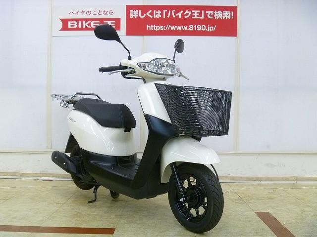 タクト タクト ワンオーナー リアキャリア 前カゴ 125ccまでは年間の税金が2000円!燃費も良…