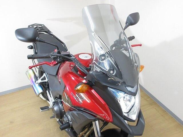 400X 400X【マル得車両】 モリワキマフラー装備! サイドバッグサ… 5枚目:400X【マル得…