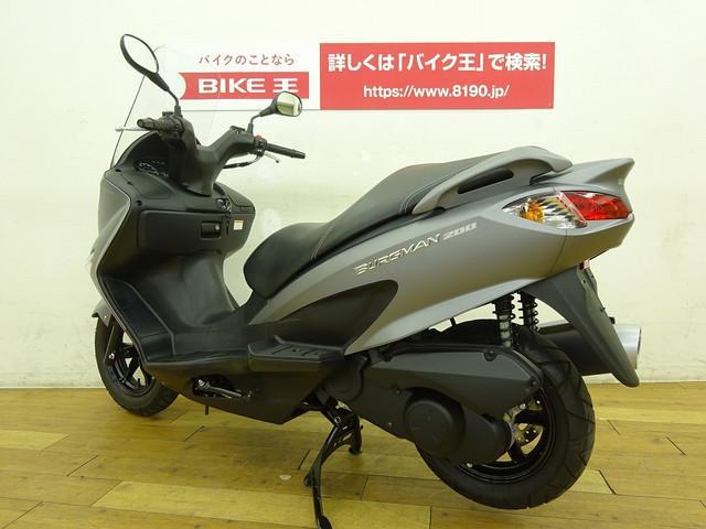 バーグマン200 バーグマン200 フルノーマル車 全国のバイク王から在庫の取り寄せが可能です!どん…