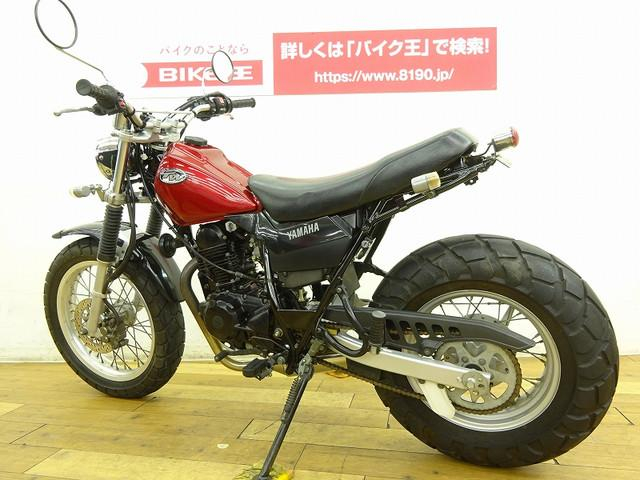 TW125 TW125 UK仕様逆車 社外ダウンマフラー装備 全国のバイク王から在庫の取り寄せが可能…